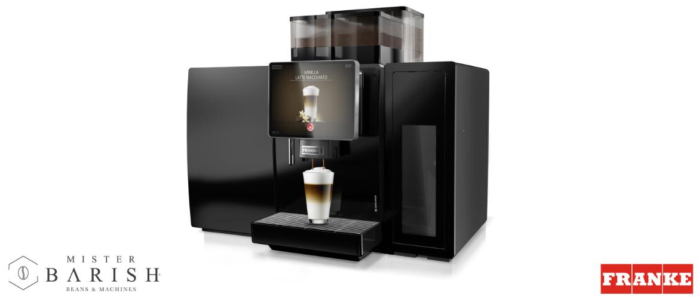 Franke 850 FoamMaster voor het ervaren van de perfecte koffie met een volautomaat