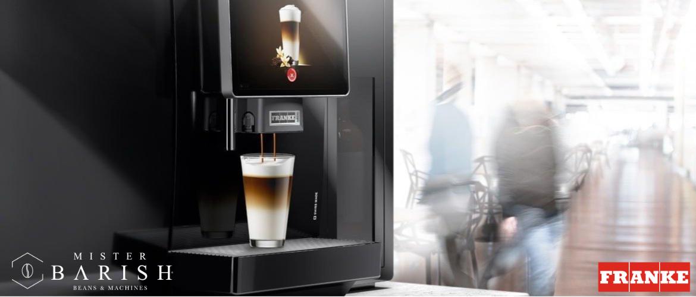 Franke koffiemachine voor de ultieme koffie op het werk