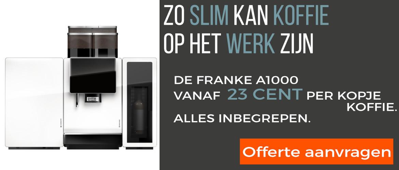 Offerte aanvragen voor Franke A1000 professionele koffiemachine