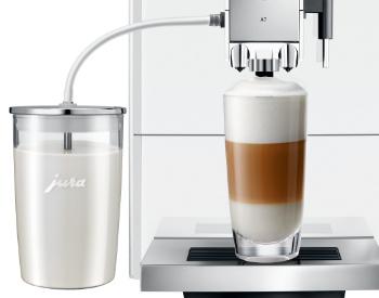 Jura A7 koffiemachine latte macchiato