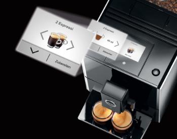 Bediening Jura A9 koffiemachine