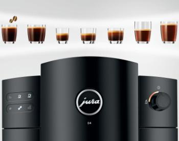 Jura D4 koffiemachine voor zwarte koffie