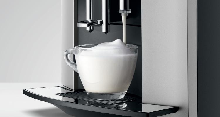 melkschuim jura d6 koffiemachine