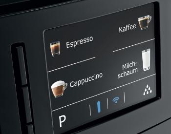 Bediening Jura E6 koffiemachine