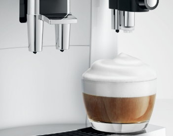 Cappuccino Jura E8 koffiemachine