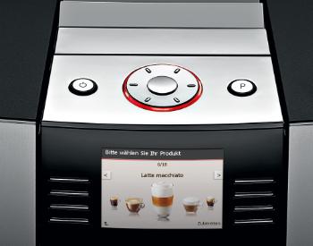 Bediening Jura Giga 5 koffiemachine