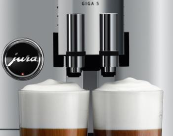 Melkschuim Jura Giga 5 koffiemachine
