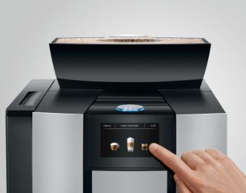 Bediening Jura Giga X3 koffiemachine