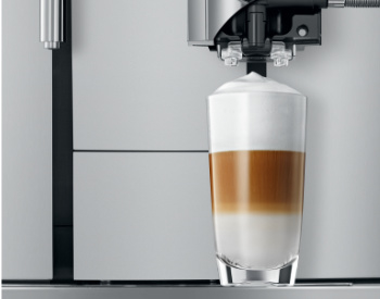 Latte macchiato Jura X3 koffiemachine