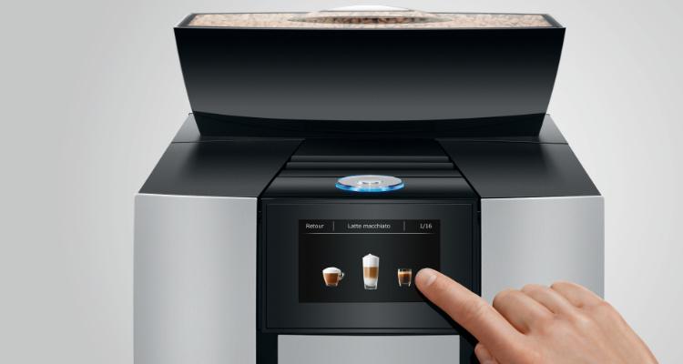 Bediening Jura X3c professionele koffiemachine