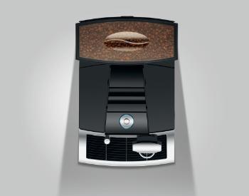 Koffiebonen Jura Giga X3c koffiemachine