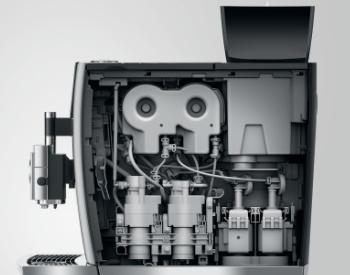 Techniek Jura Giga X3c koffiemachine