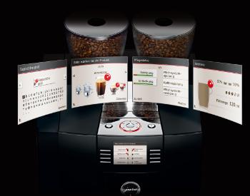 Bediening Jura Giga X8 koffiemachine