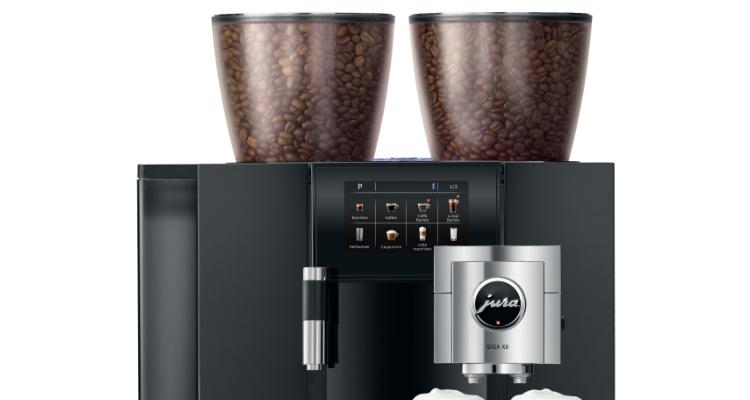 Koffiebonen reservoirs Jura Giga X8 koffiemachine