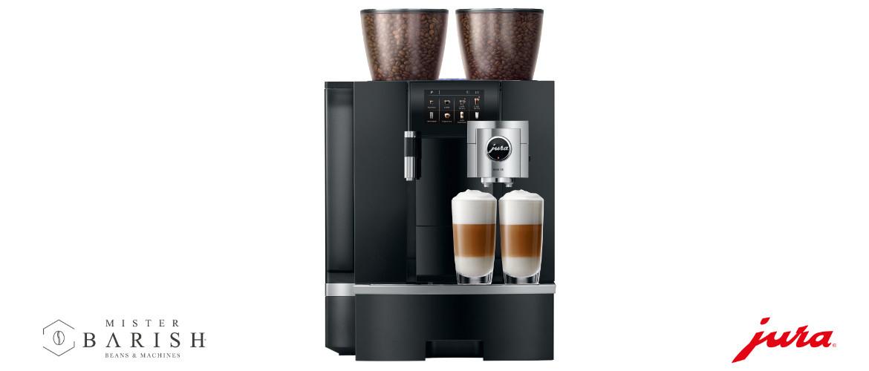 Jura Giga X8c is een prachtige koffiemachine voor professioneel gebruik