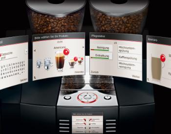 Bediening Jura Giga X8c professionele koffiemachine