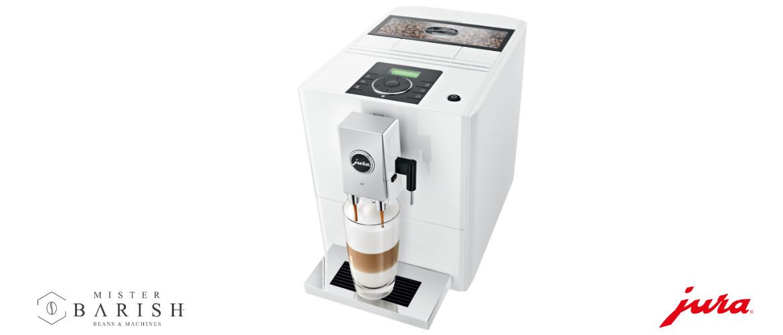 Jura A7 is een compacte koffiemachine, een innovatie in koffiebeleving