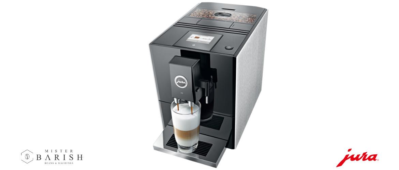 Jura A9 een iets meer geavanceerde koffiemachine, wel super compact