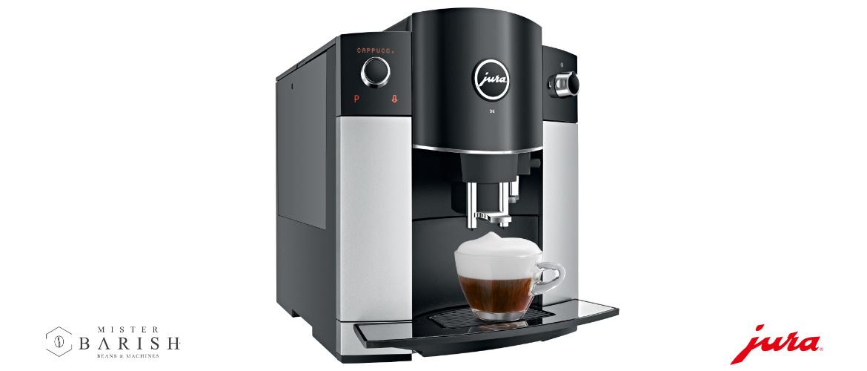 Jura D6 is de volautomatische koffiemachine voor Jura liefhebbers met een klein budget