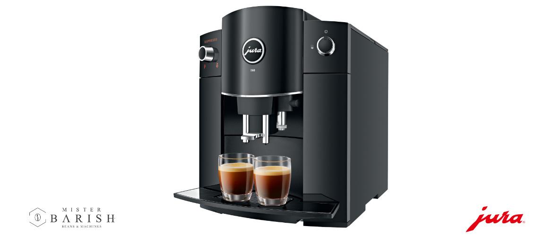 Jura D60 is een volautomatische koffiemachine met een fijn prijsje