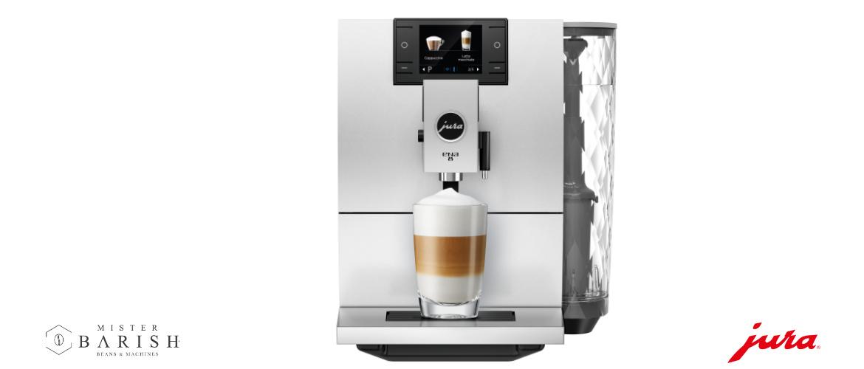 Jura ENA 8 is de prachtige compacte volautomaat voor heerlijke koffie