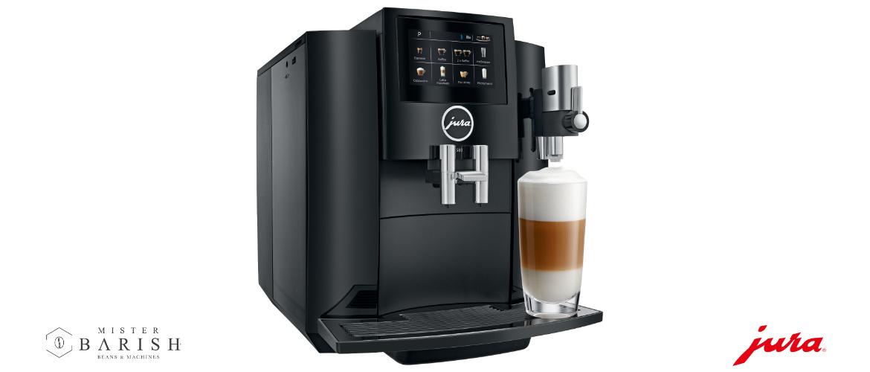 Jura S80 koffiemachine is een design volautomaat voor ieder aanrecht