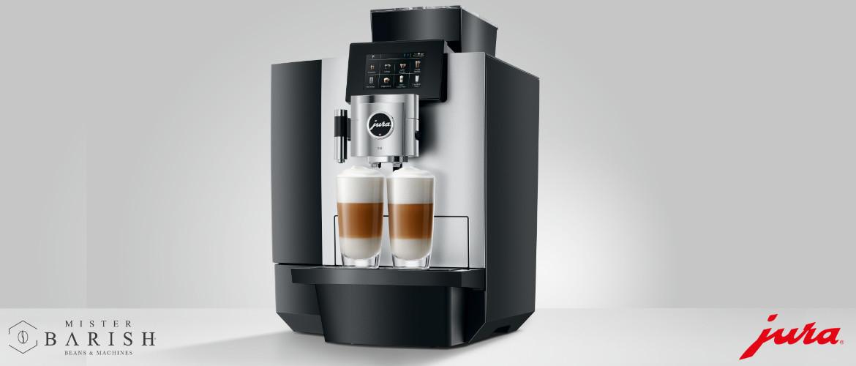 Jura X10 is een professionele krachtpatser en zet overheerlijke koffie