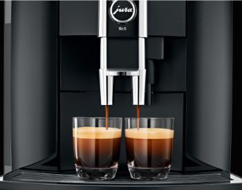 Espresso uit de Jura WE6 koffiemachine