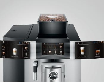 Bediening Jura X10 professionele koffiemachine