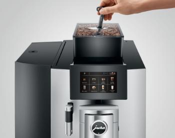 Vergrendelen Jura X10 koffiemachine