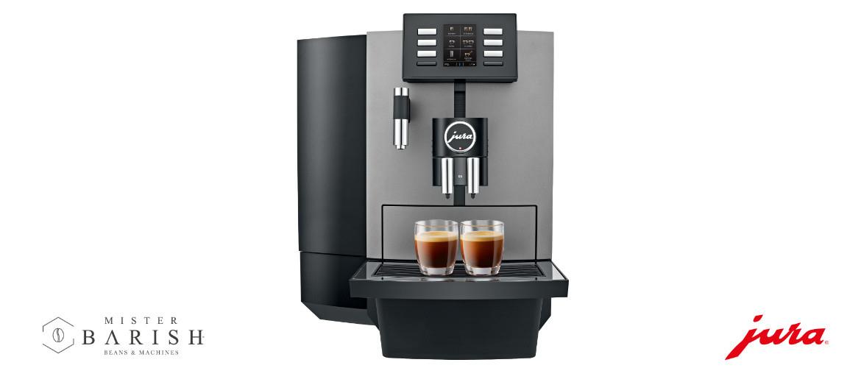 Jura X6, een mooi espresso-apparaat voor professioneel gebruik