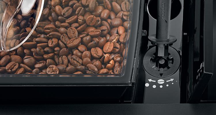 Jura X6 koffiemachine koffiebonen