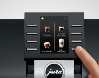 bediening Jura z6 koffiemachine