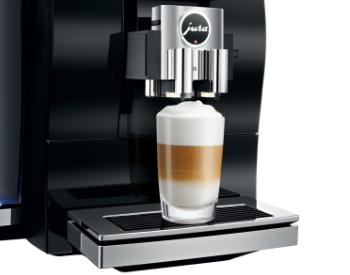 Latte macchiato jura z6 koffiemachine