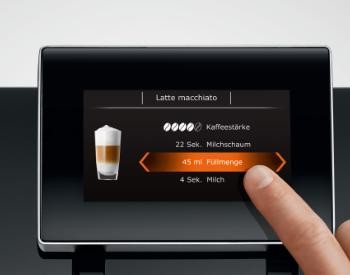 bediening Jura Z8 koffiemachine
