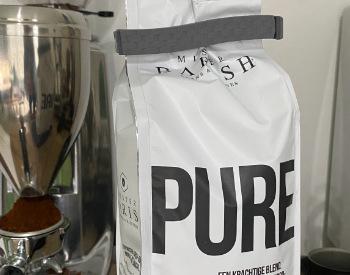 Koffie bewaren met vershoudclip
