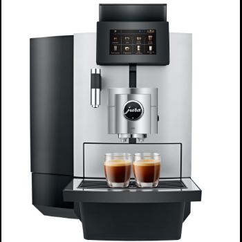 Jura X10 koffiemachine op het werk