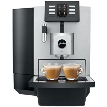 Jura X8 voor koffie op het werk