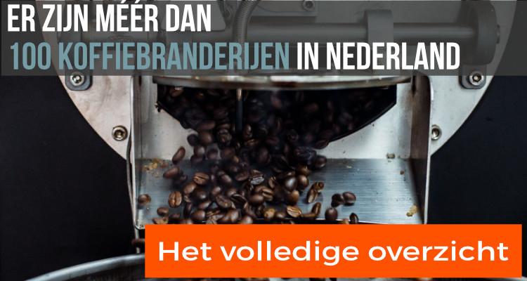 Koffiebranderij overzicht Nederland