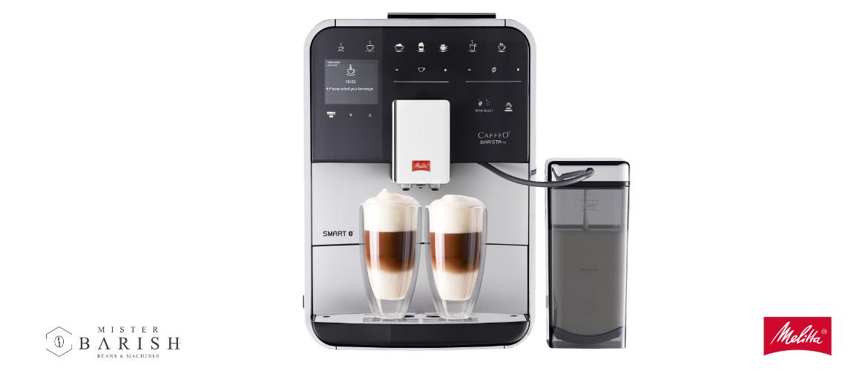 Melitta Barista TS Smart is de meeste complete volautomatische koffiemachine