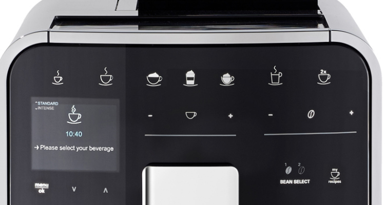Melitta Barista TS Smart koffiemachine design