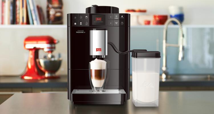 melkreservoir melitta koffiemachine