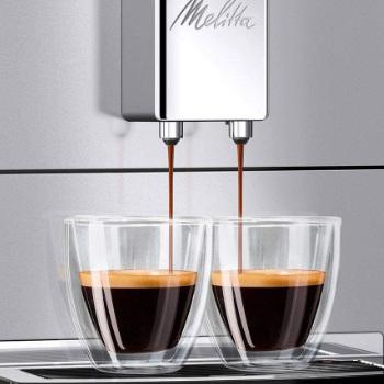Koffie uitloop Melitta Purista koffiemachine