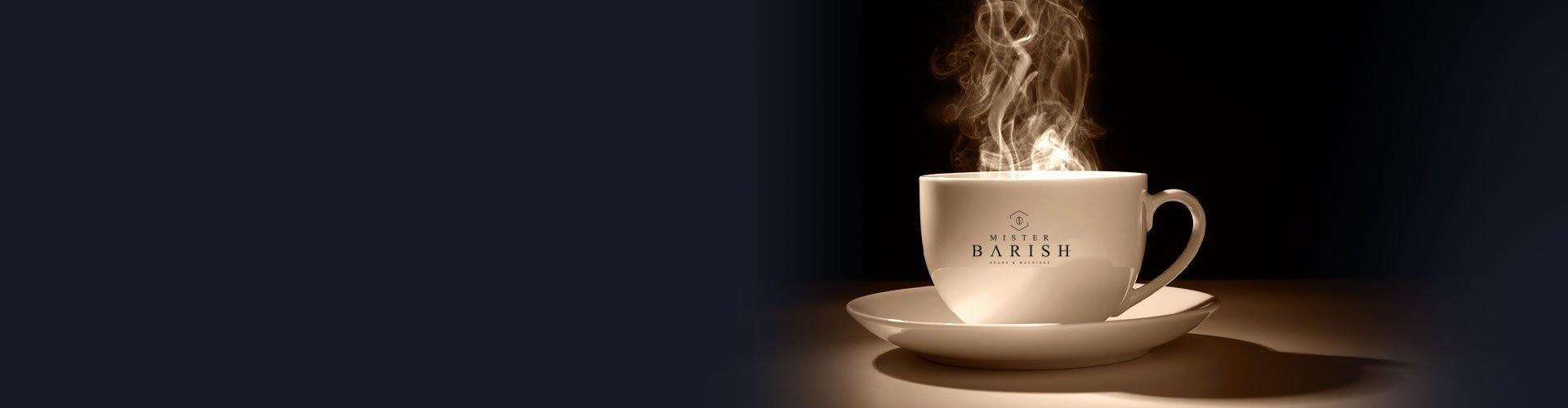Koffie thuis met Mister Barish
