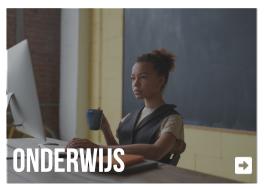 Koffie op het werk in scholen of universiteiten