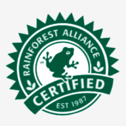 RAINFOREST ALLIANCE KEURMERK
