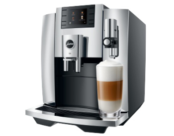 Latte macchiato Jura E8 koffiemachine+