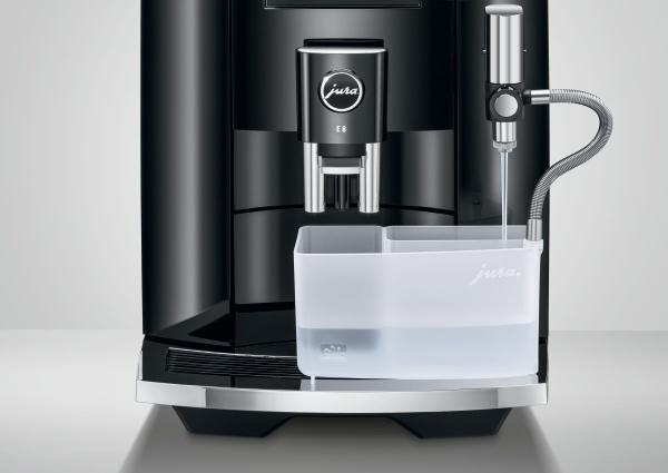 one touch melkreiniger jura e8 koffiemachine
