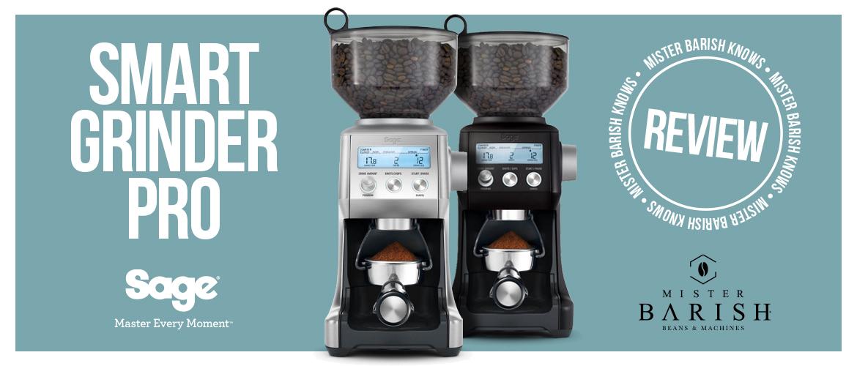 Sage Smart Grinder Pro: de meest gebruiksvriendelijke koffiemolen in zijn prijsklasse