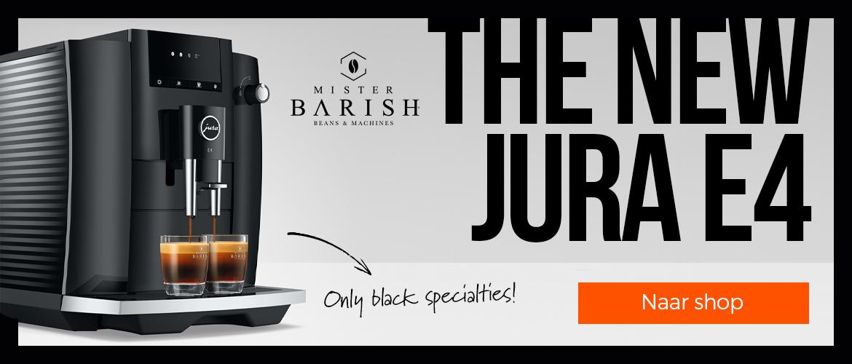 De Jura E4 is 100% koffie met de nieuwste technologie